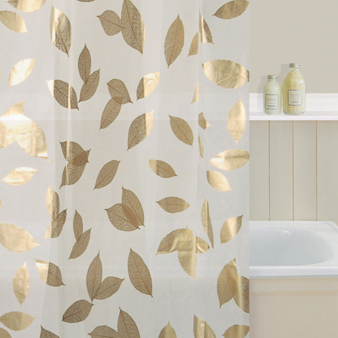 Falling Leaf Shower Curtain | Curtains24.co.uk