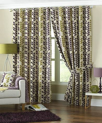 Cadiz Aubergine Curtains Curtains24 Co Uk